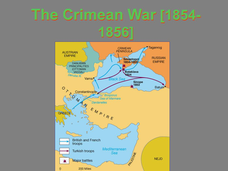 The Crimean War [1854-1856]